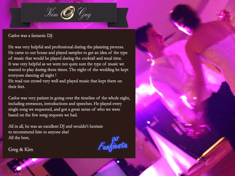 Funfiesta DJ mariage - weddings